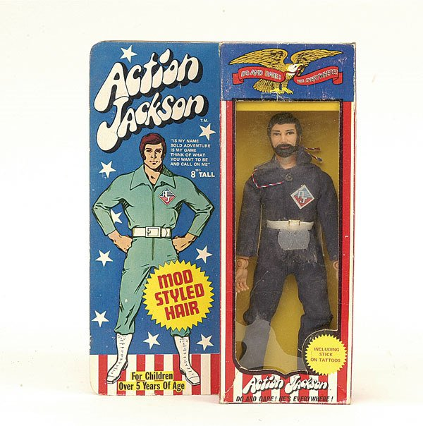 "4216: Mego ""Action Jackson"" poseable figure"