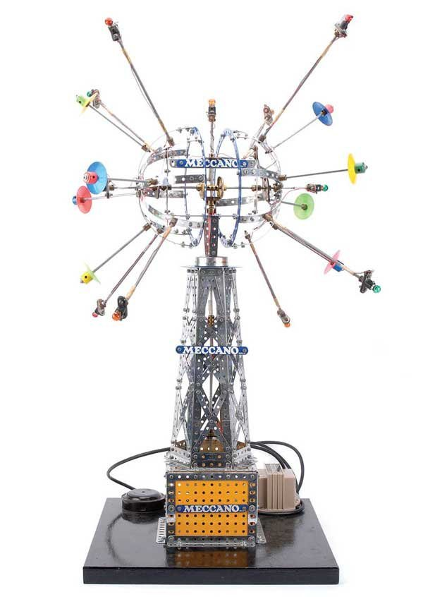 "3002: Meccano 1970's Display Model of ""The Satellite"""