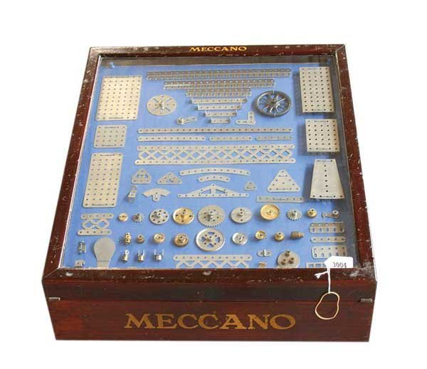 "3004: Meccano Nickel Period ""Garden Frame Cabinet"""