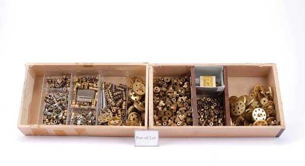 3014: Meccano - A  Quantity of Brass Work