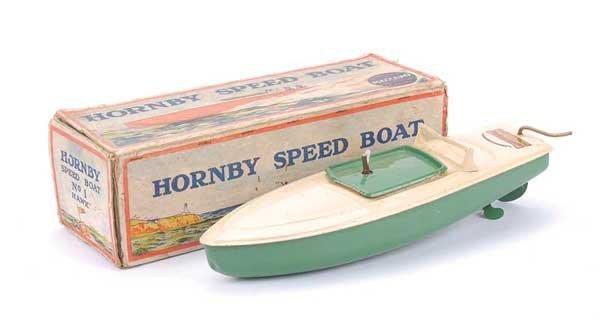 "3016: Hornby Meccano ""Hawk"" Speedboat"