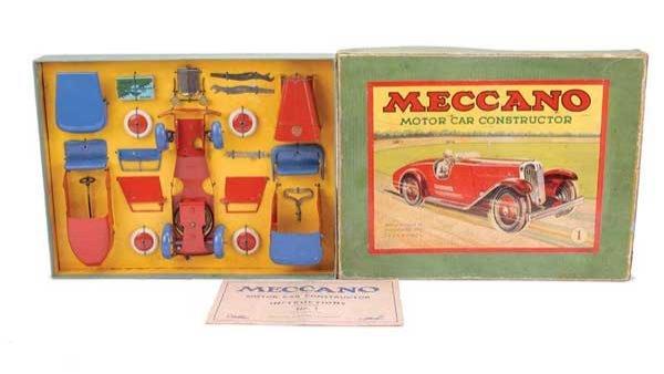 "3020: Meccano No.1 ""Motor Car"" Outfit"