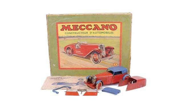 "3021: Meccano No.1 ""Motor Car"" Outfit"