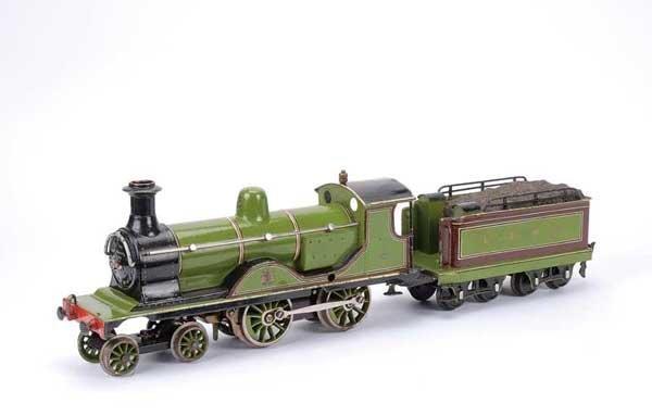 3451: Marklin 4-4-0 Loco & Tender LSWR Green No.310