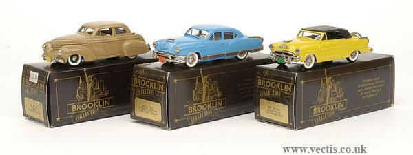1001: Brooklin Collection - A Group of Cars