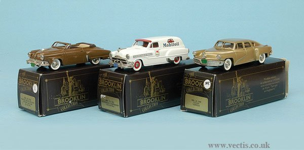 1002: Brooklin Collection - A Group of American Cars