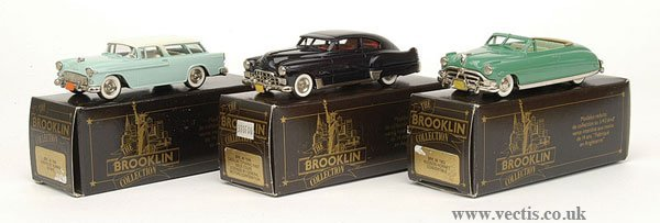 1003: Brooklin Collection - A Group of American Cars