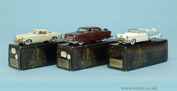 1004: Brooklin Collection - A Group of American Cars
