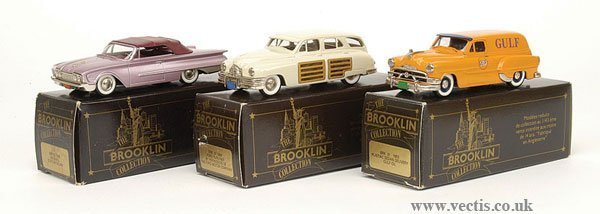 1005: Brooklin Collection - A Group of American Cars