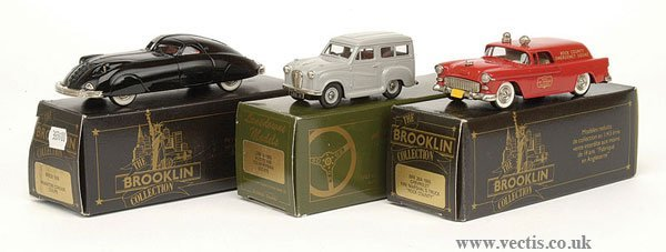1006: Brooklin Collection - A Group of American Cars