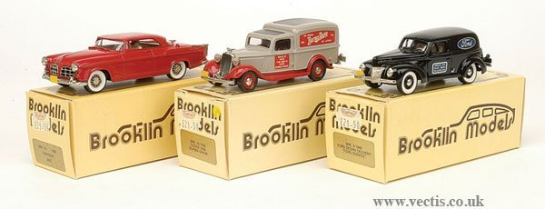 1008: Brooklin Models - A Group of American Cars