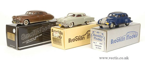 1010: Brooklin Models - A Group of American Cars