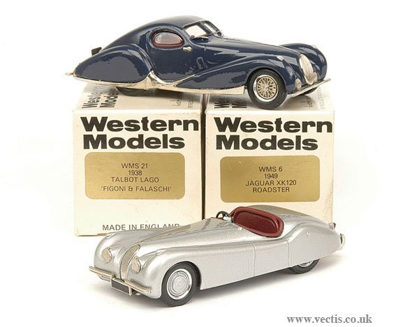 1014: Western WMS6 1949 Jaguar XK120 Roadster & Others