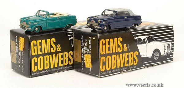 1015: Jems & Cobwebs Ford Zephyr x 2