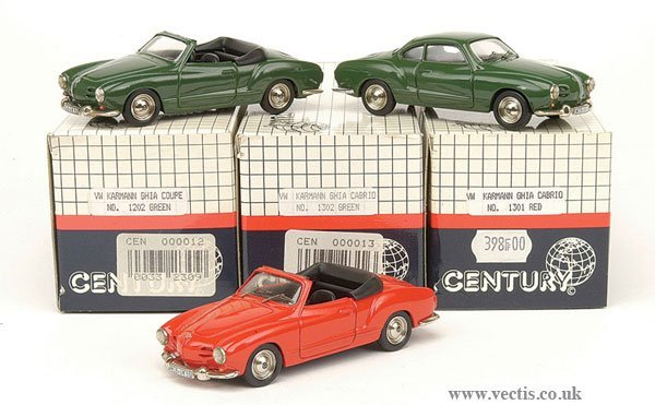 1016: Century - A Group of Volkswagen Cars