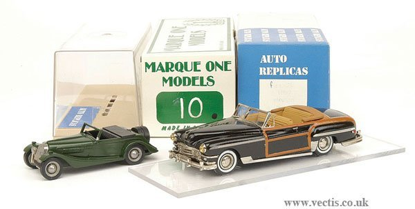 1017: Marque One No.10 1949 Chrysler Town & Country