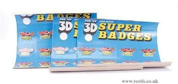 1374: Model Toys Starsky & Hutch Super Badges