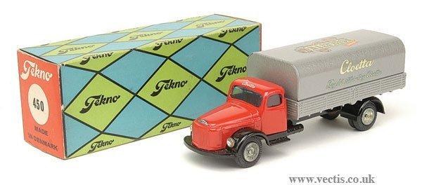 """1463: Tekno No.450 Volvo """"Cloetta"""" Delivery Wagon"""