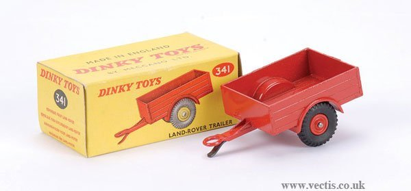 2003: Dinky No.341 Land Rover Trailer