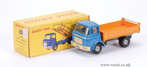 2006: French Dinky No.585 Berliet Tipping Truck
