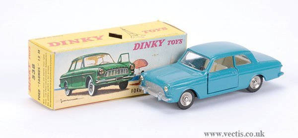 2007: French Dinky No.538 Ford Taunus
