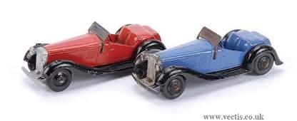 2362: Dinky No.36E British Salmson 2-seat Sports Cars