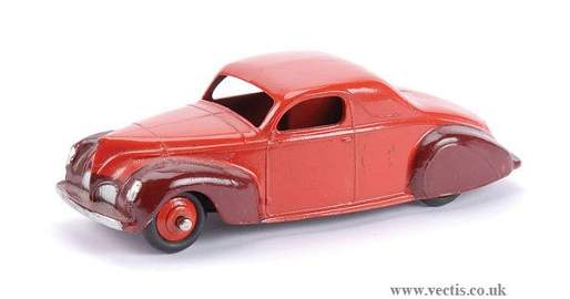 2465: Dinky No.39CU Lincoln Zephyr Coupe