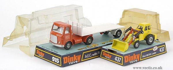 3001: Dinky No.915 AEC & No. 437 Muir Hill