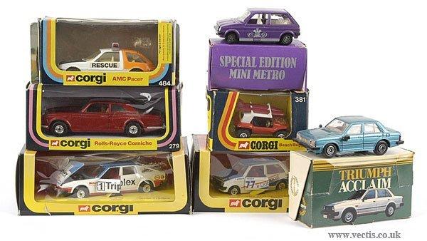 3008: Corgi - A Group of Cars