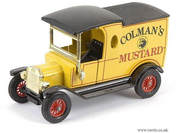 """3012: Matchbox MOY Y12 Pre-production """"Coleman's"""" Van"""