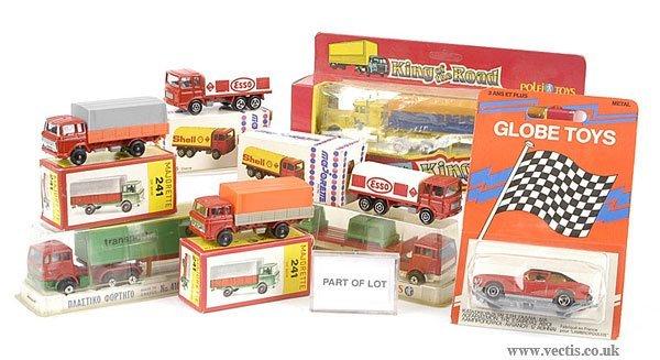 3020: Majorette - A Group of Lorries