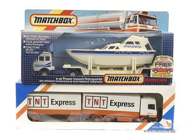 3021: Matchbox K107 Power Launch & Others