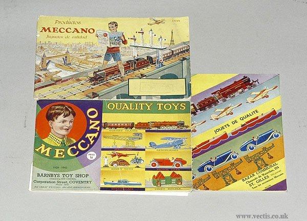 3023: Meccano 1930s Catalogues