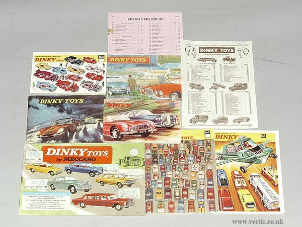 3024: Dinky - A Group of Canadian Catalogues