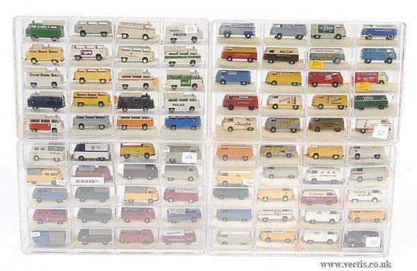 3299: Brekina - A Group of Volkswagen Vans & Pick-ups