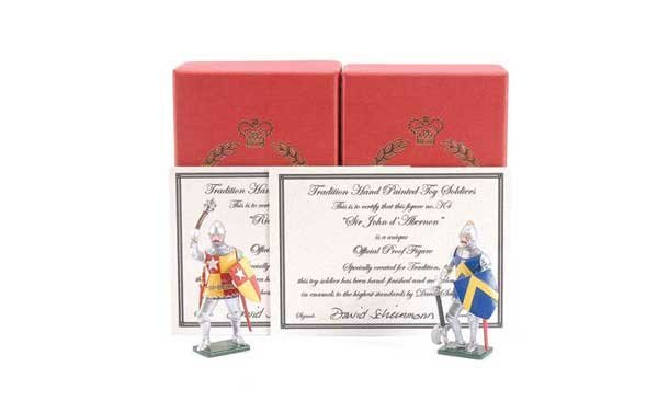 2: Tradition - Design Master Proof figures Knights
