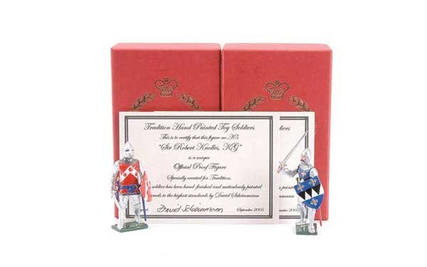 3: Tradition - Design Master Proof figures Knights