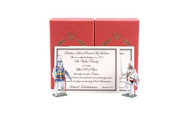 5: Tradition - Design Master Proof figures Knights