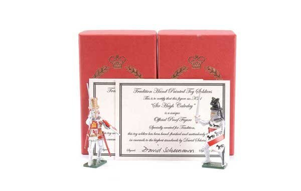 9: Tradition - Design Master Proof figures Knights