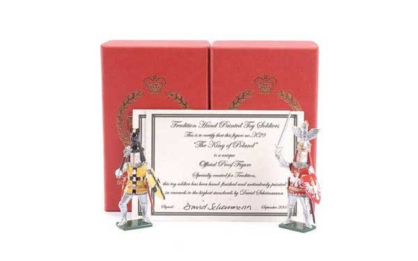 12: Tradition - Design Master Proof figures Knights