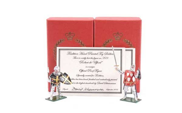 22: Tradition - Design Master Proof figures Knights