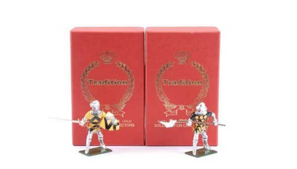 24: Tradition - Design Master Proof figures Knights