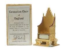 Britains - Set 1474 - Coronation Chair [1937]