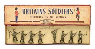 Britains - Set 2032 - Red Army Infantry