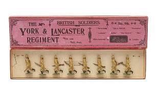 625: Britains - Set 96 - York & Lancaster Regiment