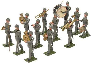 """665: """"Britains Specials"""" German Infantry Band"""