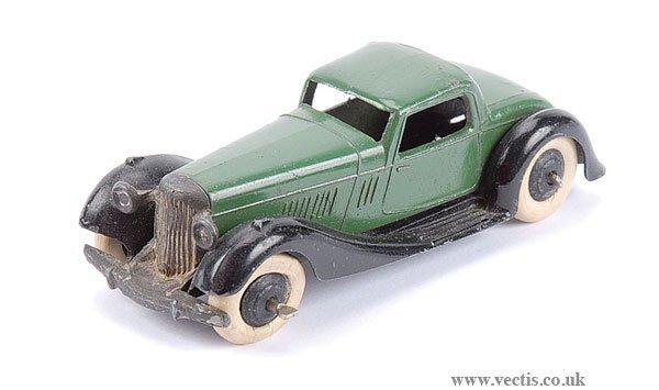 2012: Dinky No.36B Bentley
