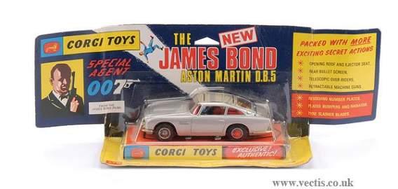 "3359: Corgi No.270 ""James Bond"" Aston Martin DB5"