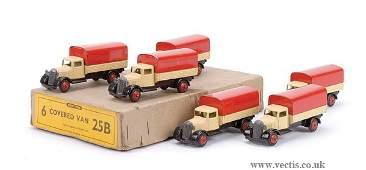 3660: Dinky No.25B Covered Wagon Trade Box