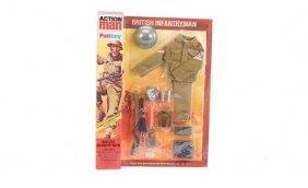 Palitoy Action Man British Infantry Locker Box